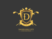 Dagon Golf City Logo