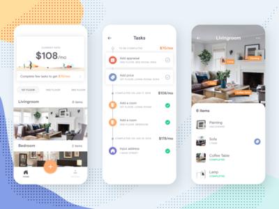 A home inventory app concept