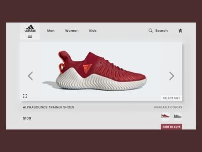 Adidas Store Concept