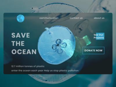 Save the ocean web UI