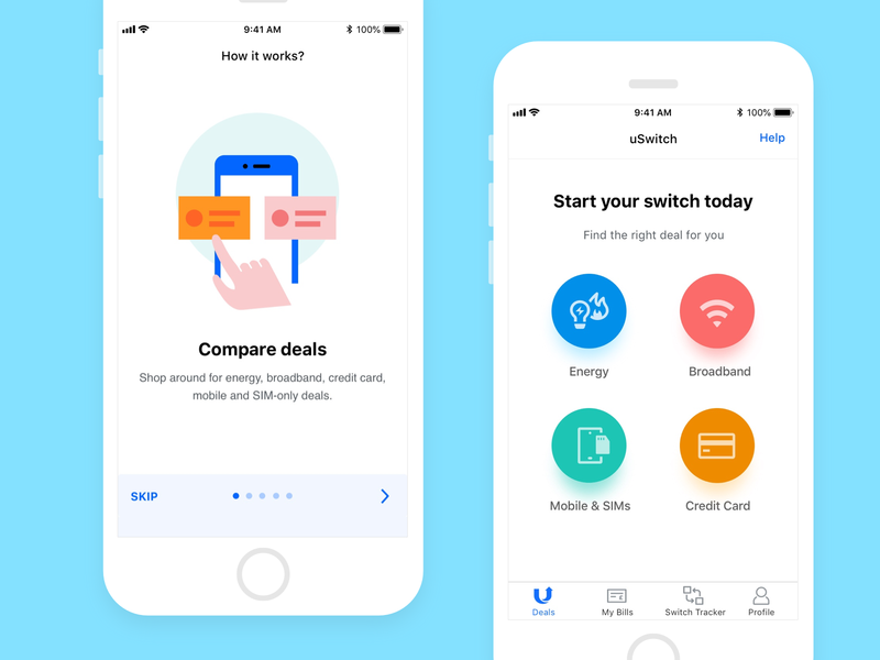 Price Comparison App >> Price Comparison App Uswitch By Ross Brine For Rvu On Dribbble