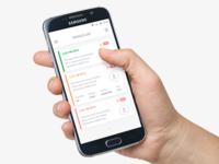 Vehicle List - Android App
