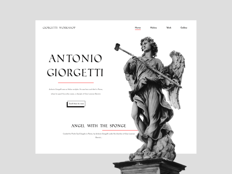 Landing page landing page design webdesign giorgetti