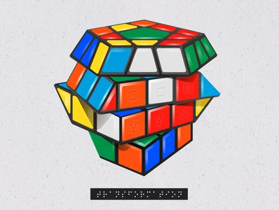 Transformational Stages in a Rubik's Cube: Stage II book illustration education apparel design vector art vector illustration illustration geometric geometric art geometry rubiks cube rubix cube rubik rubiks transformation