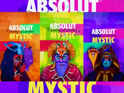 Absolut edition Mystic