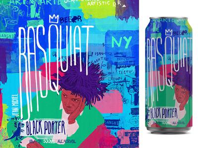 Jean-Michel Basquiat : : Art beer