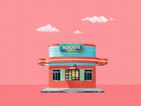 Ilustration art: Boogie Hamburgers
