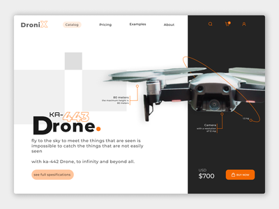 DroniX app dronix drone figma design ux ui
