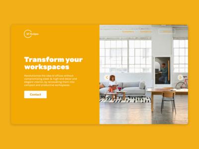 Interior Designer - UI Concept