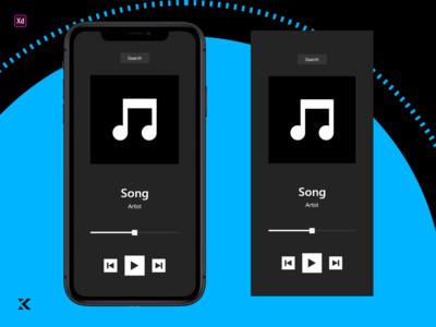 Daily UI 9 - iOS Music Player
