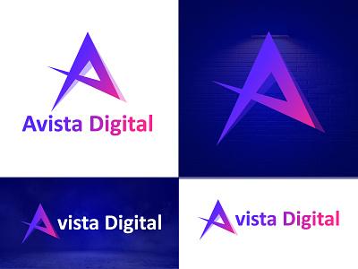 avasta digital Logo design icon logo modern logos logo design concept logo idea logodesign creative logo modern logo