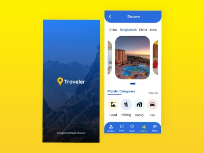 Travel app design app designer app idea travel app design travel app travling app traveller travel app design ux design ux ui design app ui