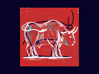 Pablo el toro bull toro pablo picasso picasso design childrens book childrens illustration drawing digital editorial magazine illustration digitalart