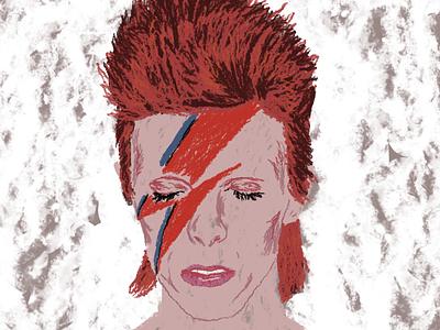 David Bowie musicians musician bowieforever bowie aladdinsane davidbowie editor design digital drawing magazine editorial digitalart illustration