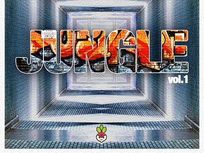 Freshtables - Jungle mix vol.1 design coverart albumartwork albumcoverart albumcover djmixdesign albumart albumdesign christoms freshtables