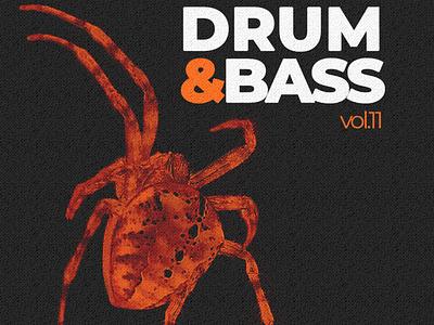 Drum&Bass vol.11 albumcoverart album cover albumcover albumartwork album artwork albumart freshtables djmixdesign christoms albumdesign