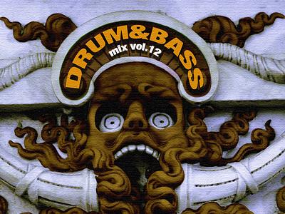 Freshtables Drum & Bass mix vol.12 albumartwork albumcover album cover design album cover djmixdesign albumart album artwork freshtables christoms albumdesign