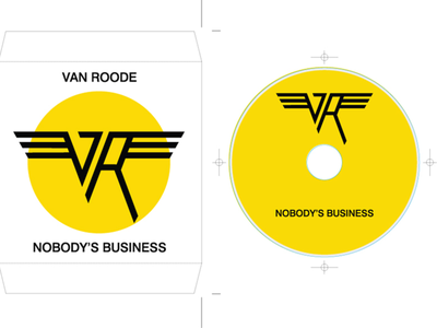 VAN ROODE - logo, cd design, cd cover design chris toms coverart albumartwork design albumcoverart albumcover albumart freshtables christoms albumdesign