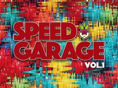 Freshtables Speed Garage mix vol.1 album art design albumcover albumcoverart album cover album artwork djmixdesign albumdesign freshtables christoms