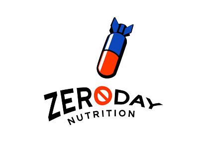 Logo Design for Zero Day Nutrition icon typogaphy illustration brand identity logo