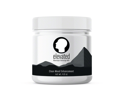 Elevated Nootropic Beverage - Brand and Package Concept logo brand design illustration art direction package mockup package design