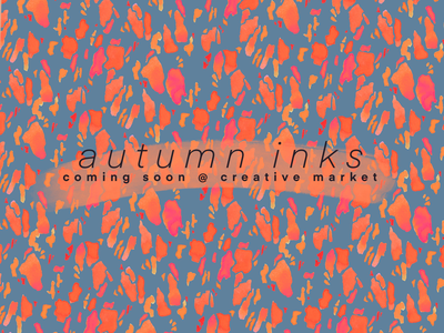 Autumn Inks Pattern