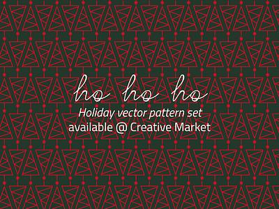 Holiday Pattern Pack christmas pattern holiday minimalist