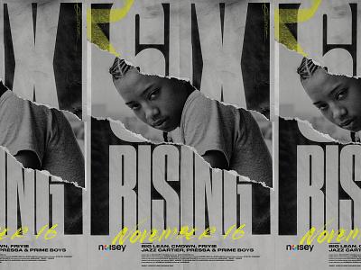 6IX RISING POSTER print worship studio worship bw movie movie poster documentary noisey vice pressa hiphop rap toronto