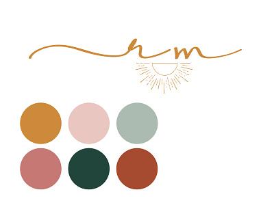 Portfolio Branding colorful graphic design branding logo design logo bohemian boho design portfolio portfolio ui design ux design