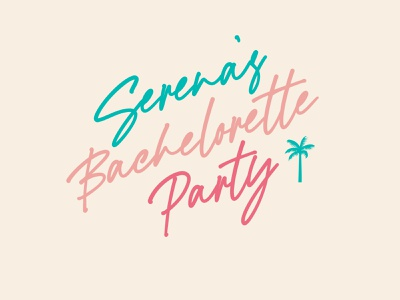 Bachelorette Party T-shirt Designs