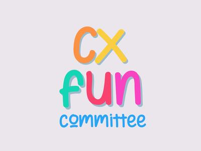 CX Fun Committee Logo