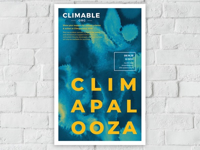 Climable Event Poster