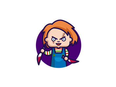 Chucky - Child's Play brad dourif charles lee cult of chucky character illustration character adobe illustrator character design american horror don mancini doll illustration chucky