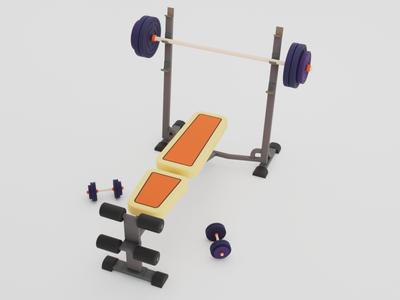 Physical culture sports sport blender3d blender illustration renders design render art 3d artist 3d