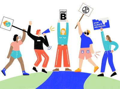 Global climate protests