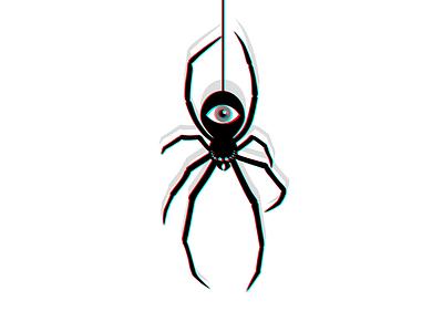 Spider affinitydesigner spider vector illustration flat design