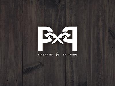 PNP Firearms & Training revolver firearm logodesign logo vector adobeillustrator adobe