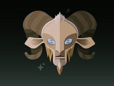 Pan's Labyrinth illustration flat portrait vector design graphicdesign adobe illustrator adobe