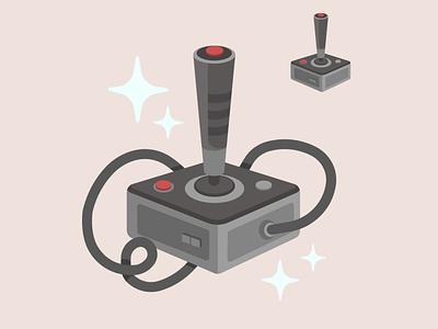 Old Skool controller video games adobe adobe illustrator illustration flat design vector