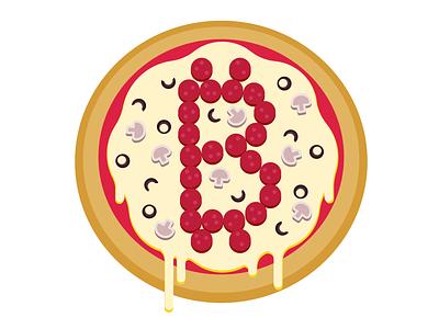 bitcoin pizza pizza bitcoin vector illustration vector design adobeillustrator adobe adobe illustrator illustration flat design vector