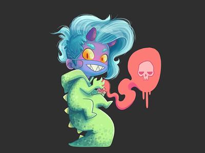 monsta illustration graphicdesign monster digital painting procreate design