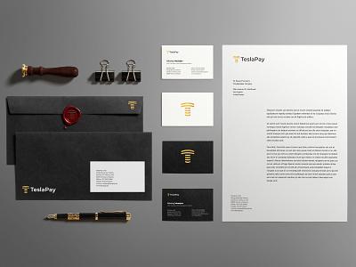 teslapay Branding logotipo logo branding