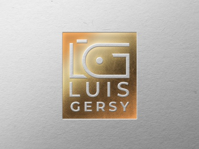 Photography Logo - Luis Gersy photographer branding logotipo design logo photography gersy luis