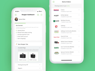 Instacart Shopper App Exploration