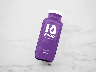 IQ FOOD Logo Design