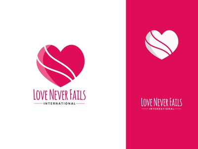 Love Never Fails - Logotype