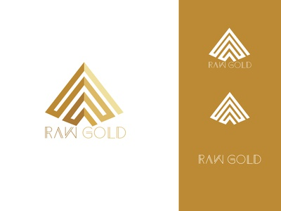 RAW GOLD - Logotype