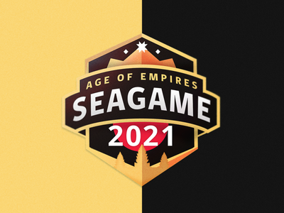 SEAGame 2021 logo illustrator branding design vector illustration