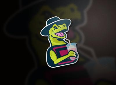 Dino Drinking