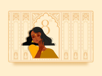 Woman's Day | 8th March 8march userinterface design vector women empowerment womens day womans day woman illustration woman shot illustration